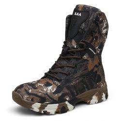 Militär-Aufladungs-Männer, welche wasserdichte taktische Aufladungengraue Brown-Tarnung-die im Freien kletternde Arbeits-Aufladung wandert Jagd-Schuhe ausbilden