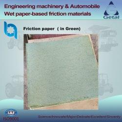 ウェット摩擦材(緑)、エンジニアリングマシンウェット用 クラッチおよびブレーキ