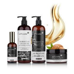 개인적인 머리 자연 매일 배려 개인 상표는 도매를 위한 대량 유기 Argan 기름 머리 조절기 그리고 샴푸를 기른다