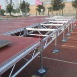 Módulo de equipamento de fase de iluminação da estrutura da estrutura da estrutura de montagem rápida em alumínio portátil Palco para o Salão de Exposições Wedding