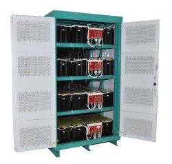 China Lieferant Hochspannungs-Lithium-Eisen-Batterie-Speicherschrank mit Wechselrichter und Ladegerät integrierte Maschine