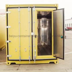 Специальные транспортировочные рефрижераторные контейнера с личной двери в контейнер двери