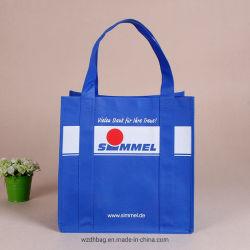 Sacchetto non tessuto di Biodegardable del sacchetto di acquisto del supermercato con le maniglie di rinforzo