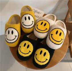 Groothandel Winter Indoor Slippers Plush Slippers Huis Pantuflas Schoeisel voor Vrouw Meisjes