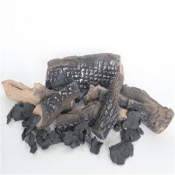 De ceramische Logboeken van de Brand van het Gas