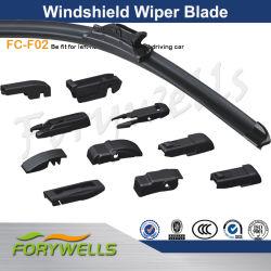 Multi-Adapter flache Windschutzscheiben-Wischer-weiche Wischer-Schaufel