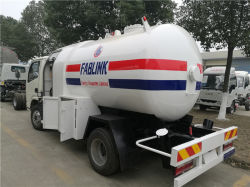 De 5000 litres 5 la distribution de gaz GPL de GAC pour la vente du véhicule