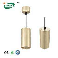18W Фонари навеса LED початков подвесной светильник современной цилиндра потолочные лампы освещения меди