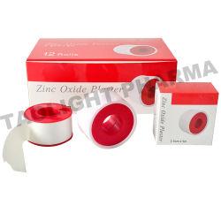El óxido de zinc de yeso cinta adhesiva de Médicos de Familia de goma transpirable de zinc