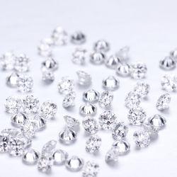 1 karaat 0.8mm Ronde Def versus Laboratorium Gekweekte Diamant Hpht
