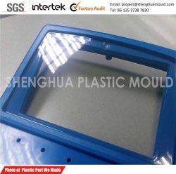 Coperture di plastica su ordinazione con lo schermo libero saldato ultrasonico dell'affissione a cristalli liquidi