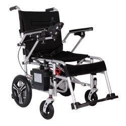 Sedia a rotelle piegante andicappata peso leggero portatile di energia elettrica