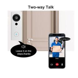 1080P WiFi Ring Smart PIR-videodeurbel met mobiele APP