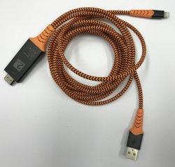 HDMIへの軽いNingのため、HDMIのアダプター1080P AVのアダプターHDTVケーブルへのAppleのためのHDMIのアダプターへのUSB軽いNing、