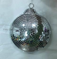 decorazione del pupazzo di neve della torretta della sfera dello specchio di natale di 20cm per i regali del mestiere dell'ornamento dell'amo della decorazione della festa nuziale di festa