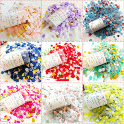 Push Pop confeti Poppers para Boda Mermaid Unicorn Fiesta de cumpleaños Baby Shower Bridal Party suministros