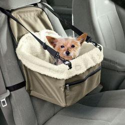 Fahrer-Polyester Sherpa Vlies-Haustier-Hundekatze-Beutel entfernen Zusatzsitz