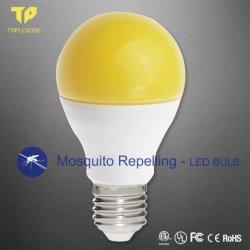 LED-elektrischer Antimoskito-abstoßende gelbe Glühlampe für Insektenpulver-Lampe 9W E27