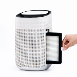 2020 소형 쉬운 휴대용 홈 HEPA 필터 공기 정화기 Peltier 내부 제습기