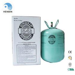 El cilindro desechable de gas refrigerante R134A con mango de acero