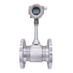 420mA Vortex Debitómetro de biogás e de biodigestor do sensor de caudal de gás metano