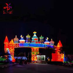 Im Freiendekoration-chinesische Festival-Seide-Laterne