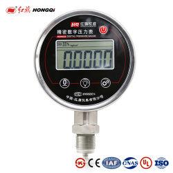 Hongqi HC-100 工場価格 OEM 0-100MPa 空気オイル水電池 デジタル圧力ゲージ