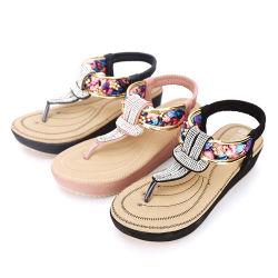 Confortável mulheres Non-Slip Casual Sandálias suave