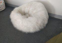 Cadeira Beanbag fluxo/Peles com pêlo Beanbag Sofá/Ottoman Beanbag sofá/cadeira Otomano/mobiliário otomano cadeira/lazer/lazer Sofá