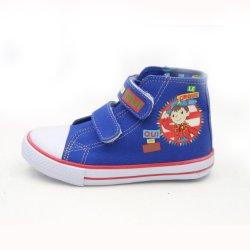 Zapatillas de Deporte dibujo pintado a mano deslizarse en suela de caucho blanco plano informal OEM Lienzo niña Hombre Mujer Niños Niños calzado para bebés