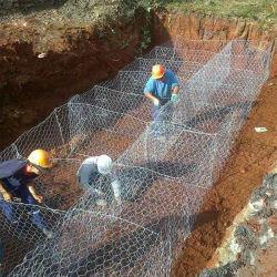 [ستيل وير مش] [غبيون] صندوق سلّة حجارة قفص لأنّ حديقة [رتين ولّ] بناء شبكة