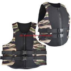 Vest van het Reddingsvest van het Drijfvermogen van de Sporten van het Water van het Neopreen van het Schuim van Customed het Volwassen
