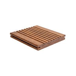방수 방식제와 비바람에 견디는 옥외 대나무 마루