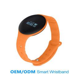 Bracelete inteligente 2016 com telefone, Bracelete Blue-Tooth assista com display LED, aço inoxidável bracelete LED personalizados