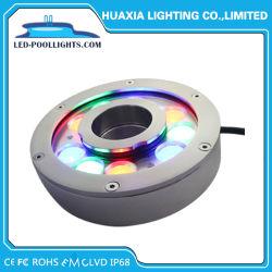IP68 en acier inoxydable 304/316 Fontaine LED 24V FEU DE BUSE