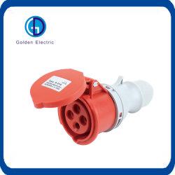 Accoppiatore industriale del connettore IP55 della spina IEC60309 e dello zoccolo per l'applicazione industriale con Ce