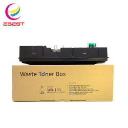 Compatível com o Minolta C224 Modelo Caixa de resíduos WX103 preços de um recipiente de resíduos
