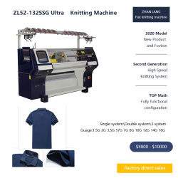 Automatische computergesteuerte Muffe, die Maschinen-Hersteller, flache Strickmaschine für Verkauf bildet
