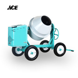 manueller mini Kleber-Betonmischer des Dieselmotor-350L