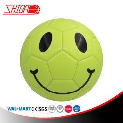 Sorriso Emoji Face realçar a máquina Costurado Tamanho 5 bola de futebol