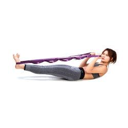 12 loops ioga esticar a correia para fisioterapia