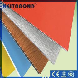 4mm PVDF en matériau composite en aluminium pour la construction de l'utilisation