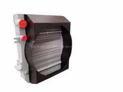 Bar-Plate ребер радиатора воздушного охладителя масла для строительной техники