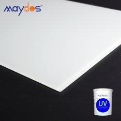 UV Maydos Verniz de madeira 100% teor de sólidos Baixo VOC Gloss