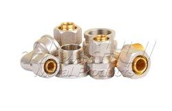 L'alluminio d'ottone non standard personalizzato dell'acciaio inossidabile parte gli accessori per tubi pneumatici