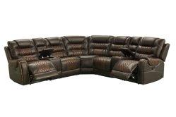 革空気が付いている現代家具の横たわる角のソファー