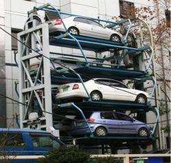 Sistema di sollevamento del parcheggio dell'automobile intelligente multilivelli del cameriere personale