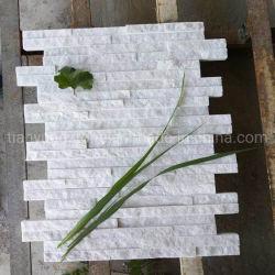 中国自然白カルザイサイトスタックカルチャーストーン