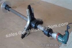 Dn20-400mm 휴대용 지구와 안전 밸브 가는 공구