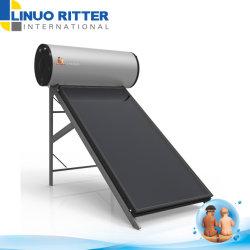120L, 150L, 200L, 300L SUS316L innere Stärken-Solarwarmwasserbereiter des Becken-1.2 Using Sammler der flachen Platten-2m2 oder 3m2 mit galvanisiertem Blatt-Halter